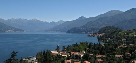 A view of Bellagio, Lake Como, Lombardy, Italy