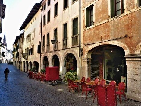 Corso Vittorio Emanuele, Pordenone, Friuli-Venezia Giulia, Italy