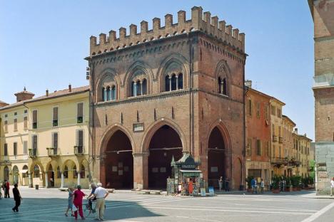 Loggia dei Militi, Cremona, Lombardy, Italy
