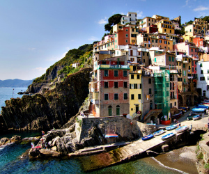 Riomaggiore, Cinque Terre, Liguria, Italy - 2
