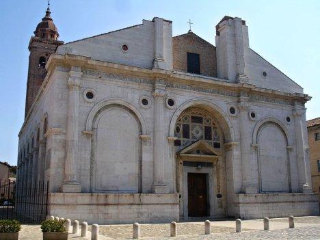 Tempio Malatestiano, Duomo di Rimini, Italy