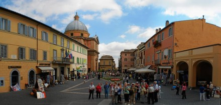 Castel Gandolfo town, Lazio, Italy