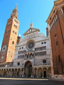 Torazzo tower and Cremona Cathedral, Lombardy, Italy