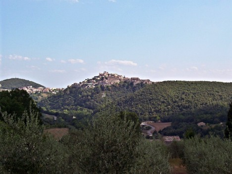 Amelia and its surroundings, Umbria, Italy