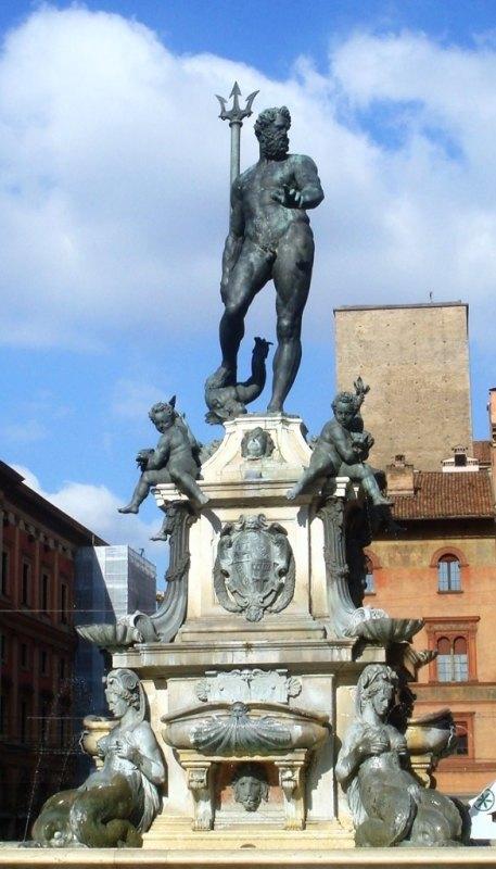 Fontana del Nettuno, Bologna, Emilia-Romagna, Italy