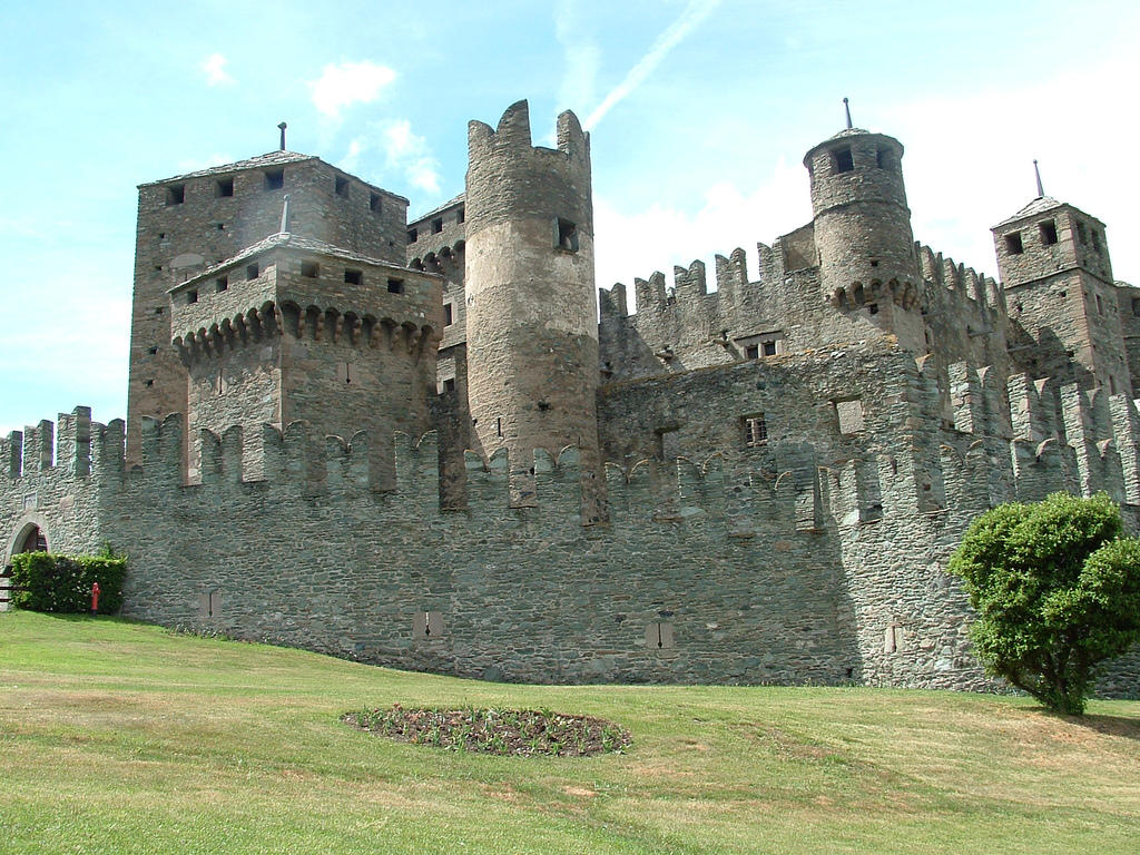 Fenis Castle, Italy