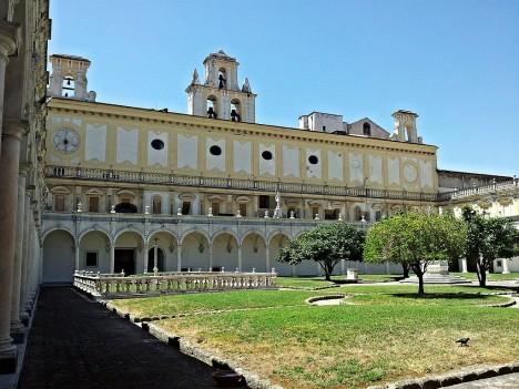 Cloister of Certosa di San Martino, Naples, Campania, Italy