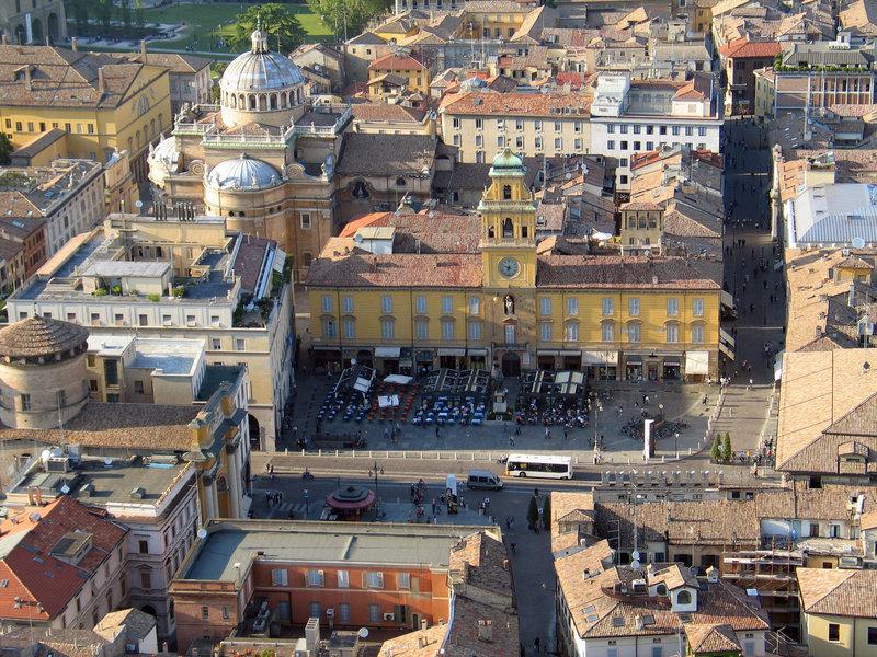 Piazza Garibaldi, Parma, Emilia-Romagna, Italy