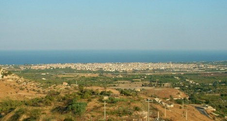 Avola - Panorama, Sicily, Italy