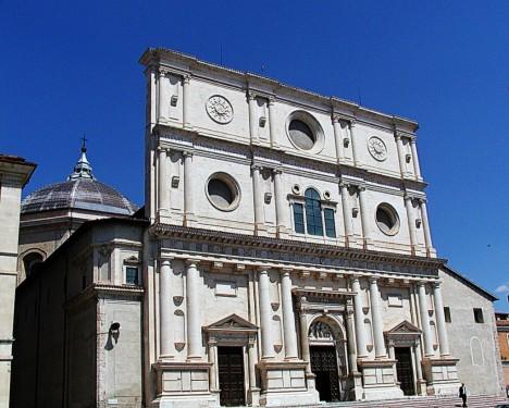 Basilica di San Bernardino, L'Aquila, Abruzzo, Italy