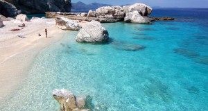 Cala Mariolu beach, Sardinia, Italy