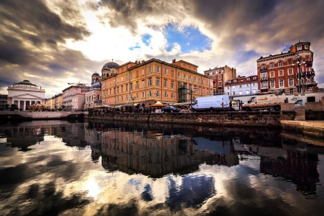 Canal Grande di Trieste, Friuli-Venezia Giulia, Italy