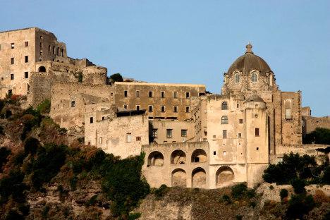 Castello Aragonese, Ischia Ponte, Campania, Italy