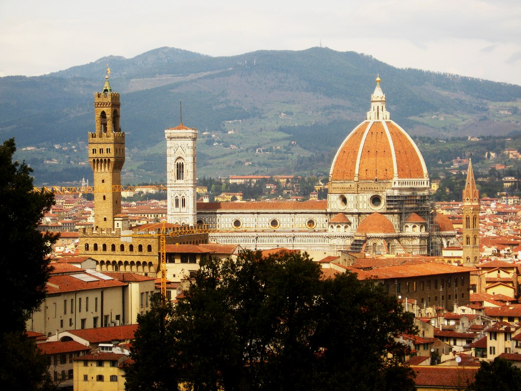 Cathedral of santa maria del fiore florence tuscany for Is florence in tuscany