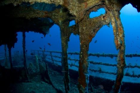 Diving in Cala Gonone, Sardinia, Italy