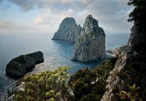 The Faraglioni of Capri, Campania, Italy