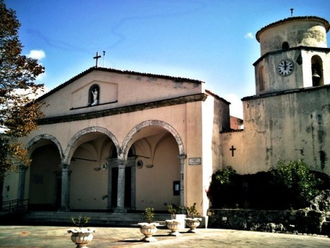 Saint Blaise Basilica, Maratea, Basilicata, Italy