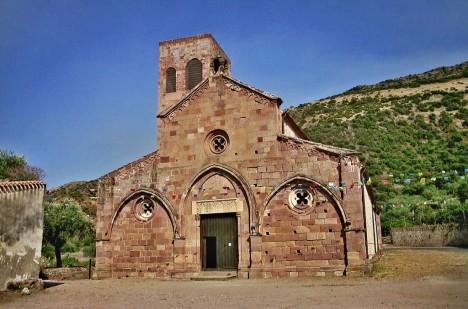 San Pietro Extra Muros, Bosa, Sardinia, Italy