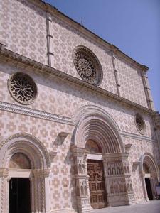 St Maria di Collemaggio, L'Aquila, Abruzzo, Italy
