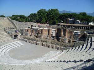 Theatre at Pompeii, Italy
