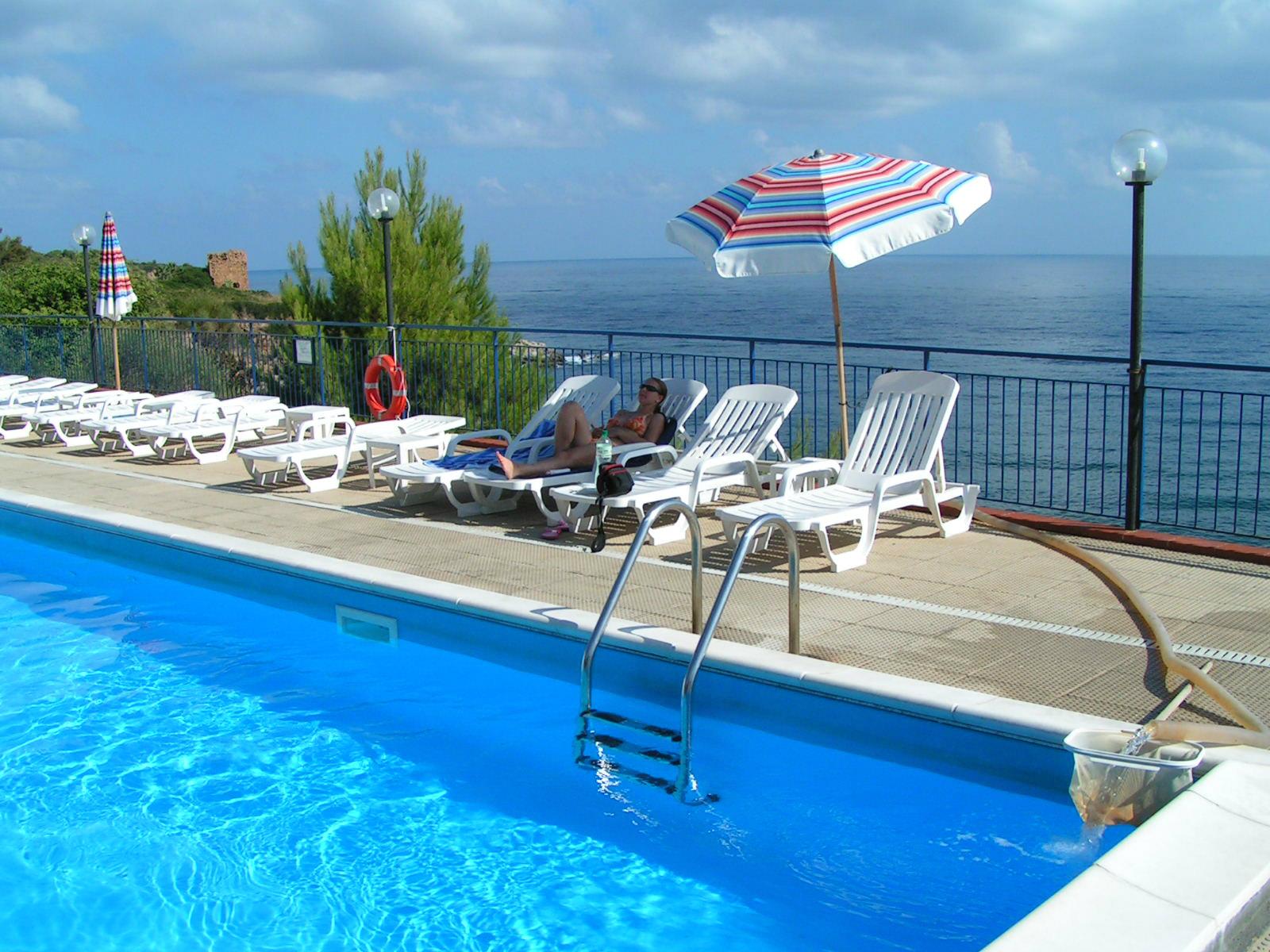 Great view, Sicily coast, Italy