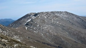 The summit of Punta La Marmora, Sardinia, Italy