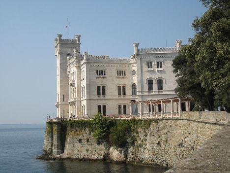 Trieste - Miramare Castle, Italy