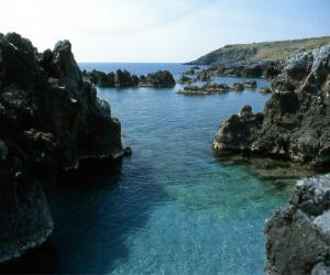 Coastline in Scalea, Calabria, Italy