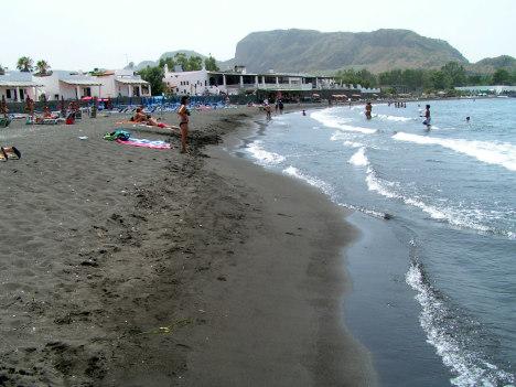 Spiaggia Sabbie Nere, Vulcano island, Sicily
