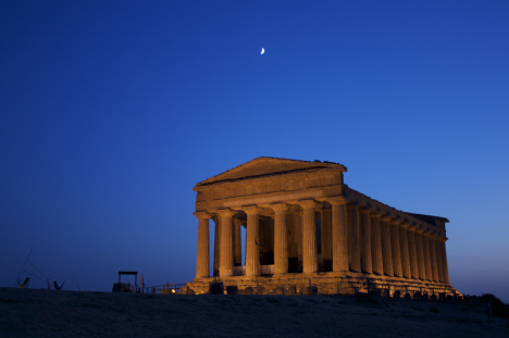 Temple of Concordia, Agrigento, Sicily, Italy
