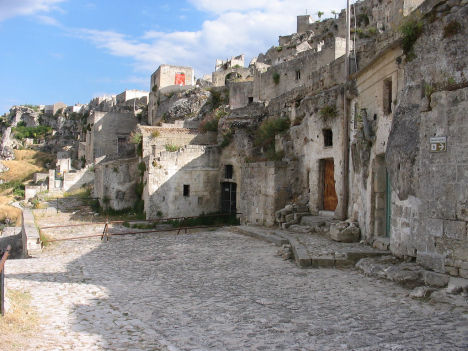 Sassi in Matera, Basilicata, Italy