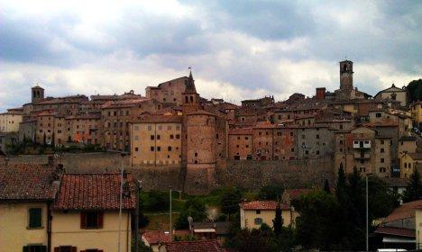 Anghiari, Tuscany, Italy