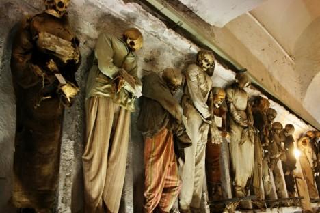 Catacombe dei Cappuccini, Palermo, Sicily, Italy