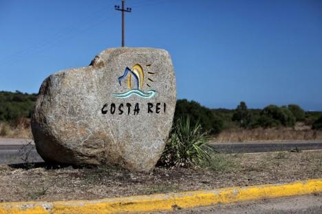 Costa Rei stone, Sardinia, Italy