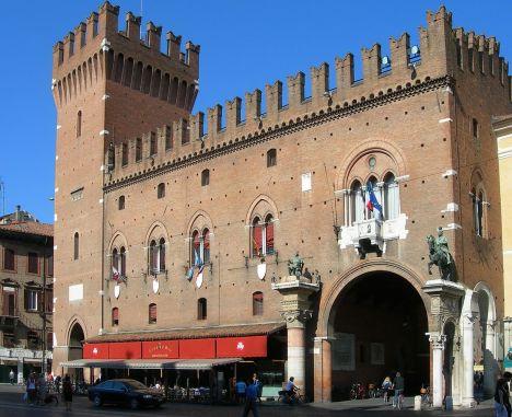 Ferrara City Hall, Emilia-Romagna, Italy