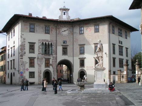 Piazza dei Cavalieri, Pisa, Tuscany, Italy