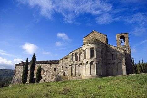 Pieve di San Pietro a Romena, Prattovecchio, Tuscany, Italy
