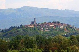 Poppi Castle, Casentino, Tuscany, Italy