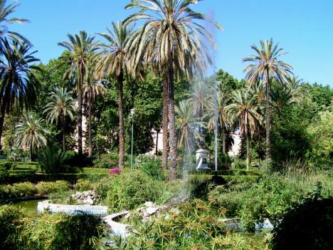 Villa Bonanno, Garden, Palermo, Sicily, Italy