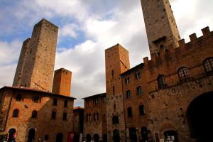 Medieval Manhattan, San Gimignano, Tuscany, Italy