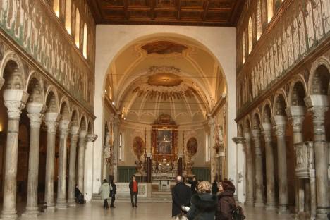 Basilica di Sant'Apollinare Nuovo, Ravenna, Emilia-Romagna, Italy
