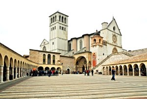 Basilica of St Francis of Assisi, Umbria, Italy
