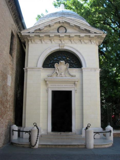 Dante Alighieri tomb, Ravenna, Emilia-Romagna, Italy