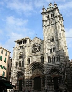 Genova Cathedral, Liguria, Italy