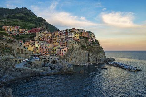 Manarola, Cinque Terre, Liguria, taly