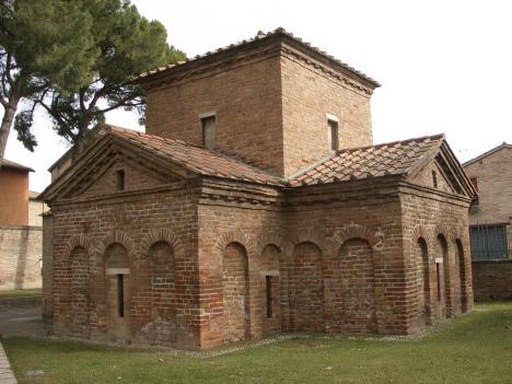Mausoleo Galla Placidia, Ravenna, Italy