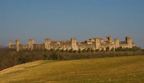 Monteriggioni, Tuscany, Italy