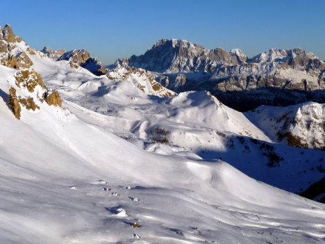 Passo San Pellegrino, Dolomiti Superski, Italy