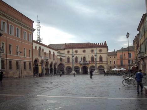 Piazza Del Popolo, Ravenna, Emilia-Romagna, Italy