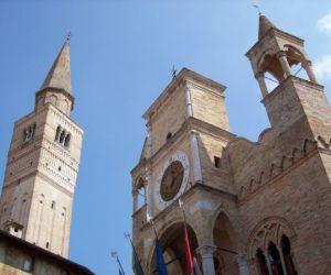Pordenone City Hall and Campanile, Friuli-Venezia Giulia, Italy